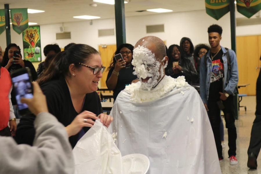 Pie in the Face Raises Money for Student Club