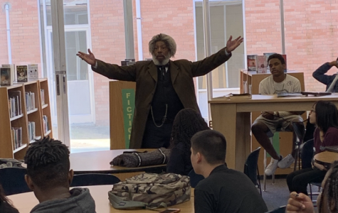 Frederick Douglass Visits BHS