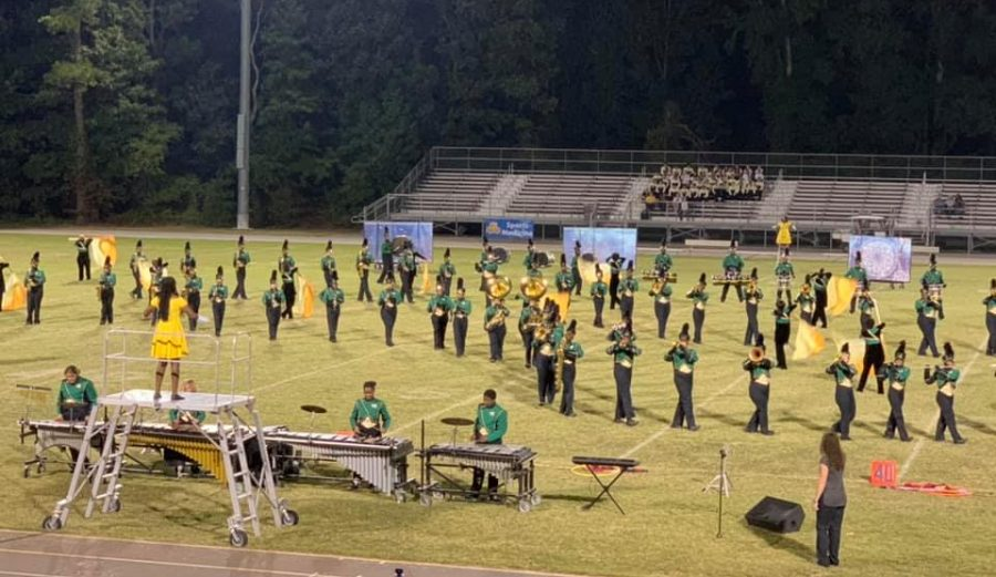 BHS Marching Band Season Ends Strong
