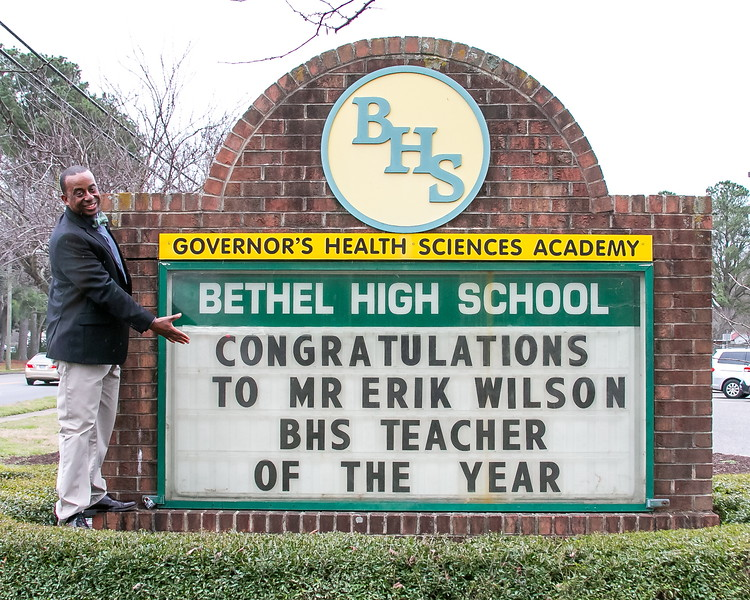 To Sir With Love: BHS Teacher of the Year