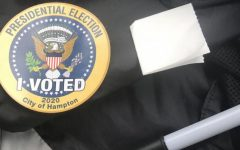 2020 Election Voting Sticker