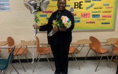 Dr. Hill, 2021 Teacher of the Year  Photo Credit: Taniya Turner